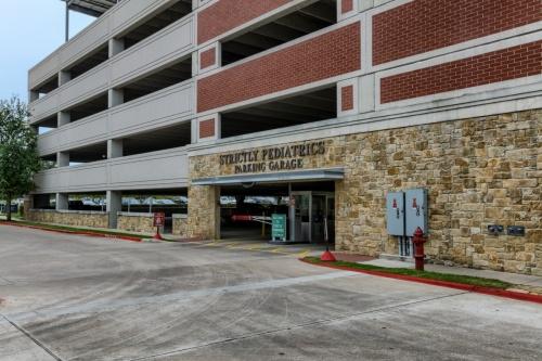 strictly pediatrics parking garage